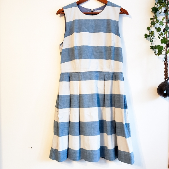 GAP Striped Cotton Summer Dress 8